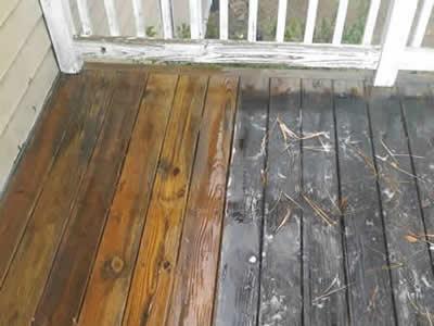 Deck Washing Image