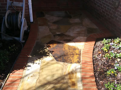 Stone Cleaning Image